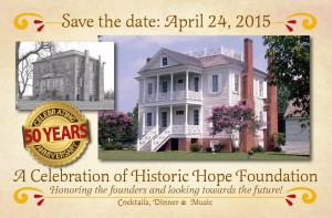 Celebrating 50 Years - A Celebration of Historic Hope Foundation