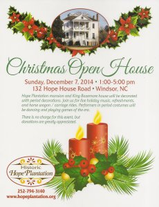 ChristmasOpenHouse2014Flyer