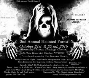 2nd Annual Hope Haunted Forest