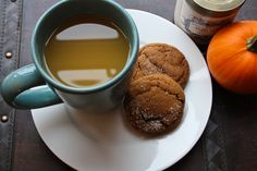Hot Cider and Ginger Snaps