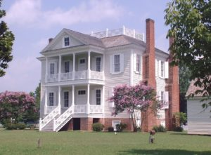 Hope Plantation front of mansion house